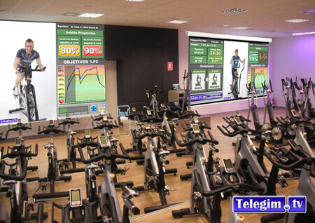 Sala Virtual Cycling Telegim BODYFACTORY 2