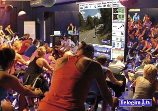 Virtual Cycling Graphics TelegimTV Melcior Mauri