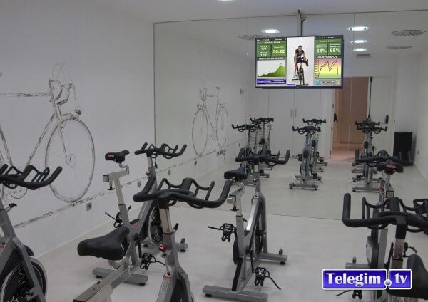 Virtual Cycling para hoteles TelegimTv