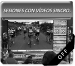 Sesiones Ciclo Indoor + Video Sincro.